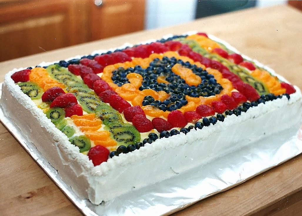 Fresh Fruits Cake Recipe  Fruit Bottom Cake Recipe — Dishmaps