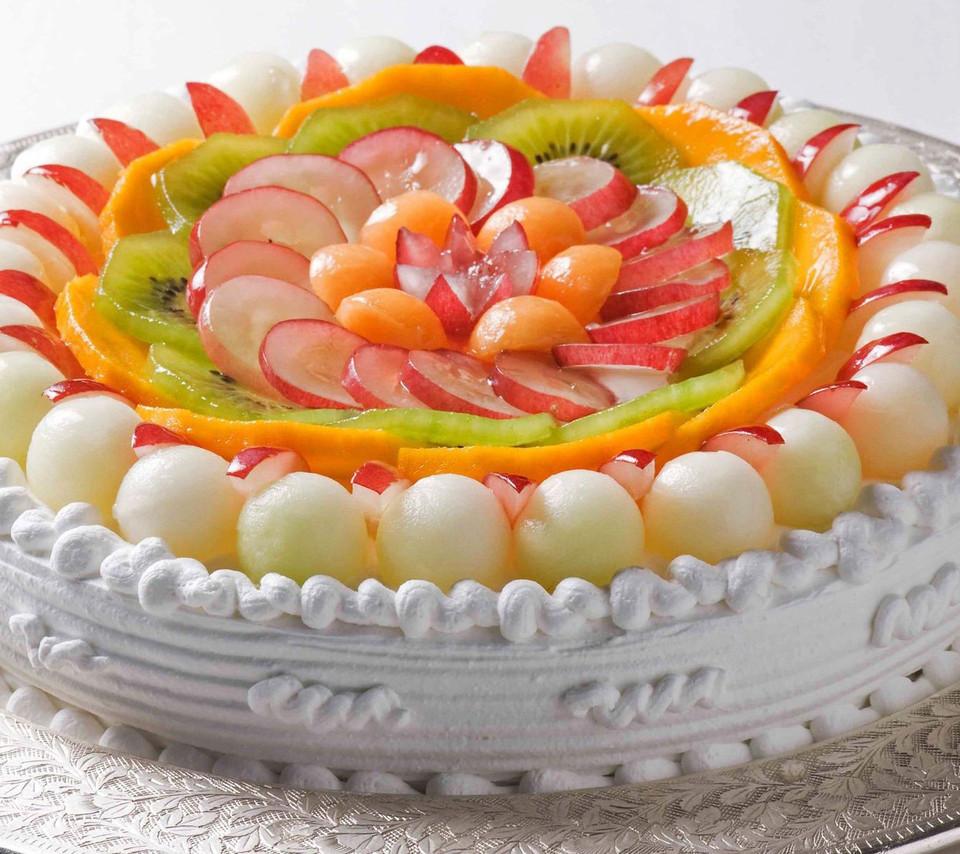 Fresh Fruits Cake Recipe  2 Kg Fruit Cake Dpsainiflorist