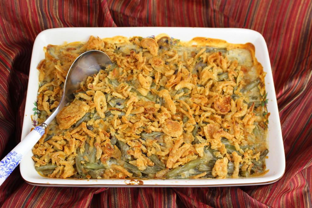 Fresh Green Bean Casserole  Fresh Green Bean Casserole