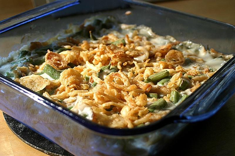Fresh Green Bean Casserole  Fresh Green Bean Casserole Vegan VeggieConverter