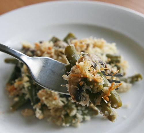 Fresh Green Bean Casserole  Healthy Green Bean Casserole Recipe