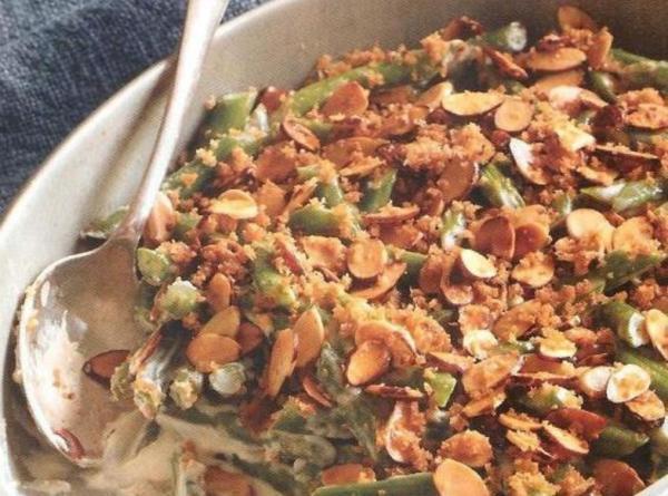 Fresh Green Bean Casserole  Fresh Green Bean Casserole Recipe
