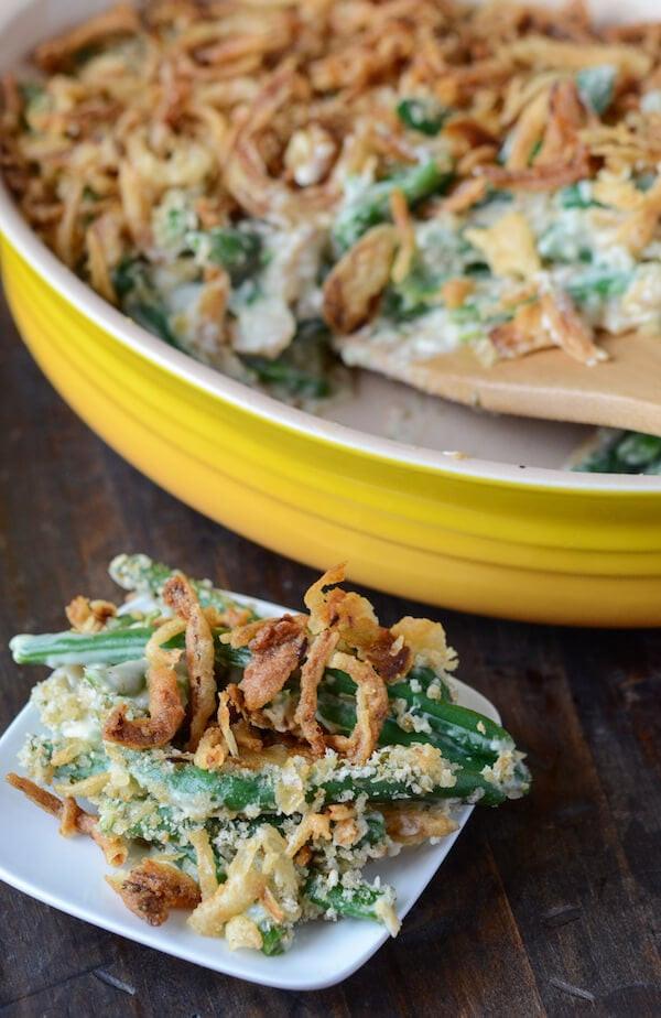 Fresh Green Bean Casserole  The Best Green Bean Casserole – The Novice Chef