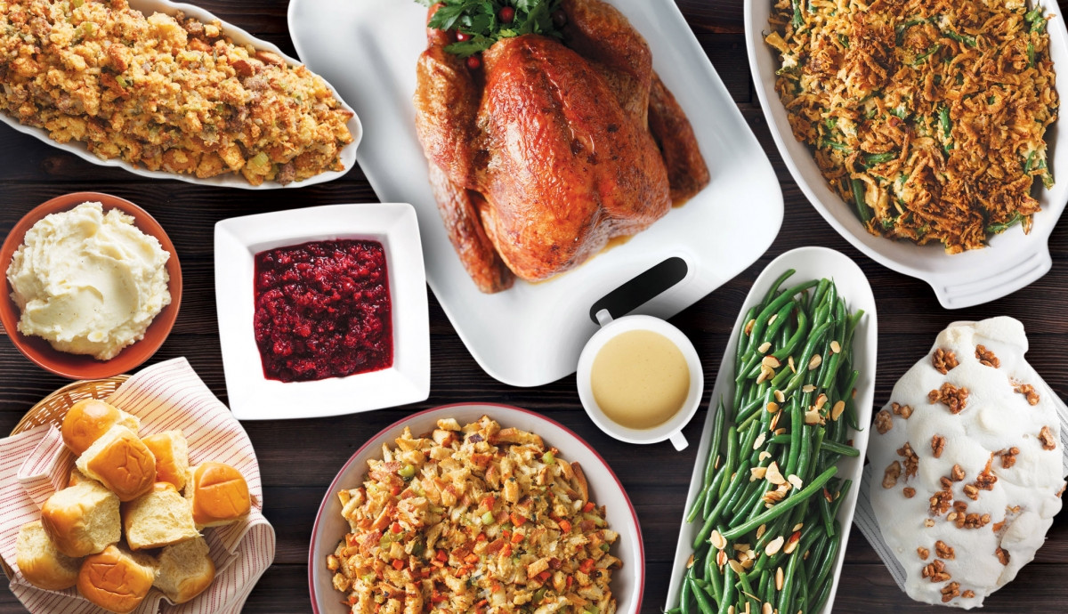 Fresh Market Thanksgiving Dinner  Food for Thought Thanksgiving Menu Ideas Nug Markets