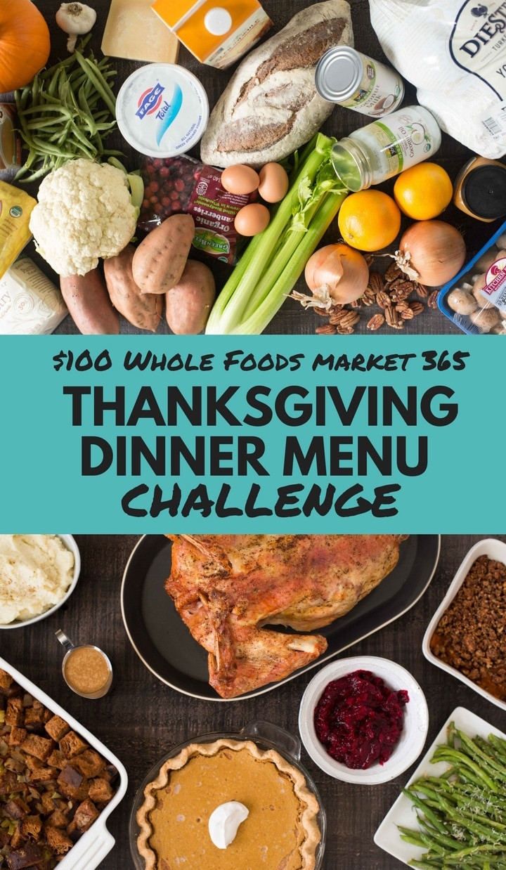 Fresh Market Thanksgiving Dinner  $100 Whole Foods Market 365 Thanksgiving Dinner Menu