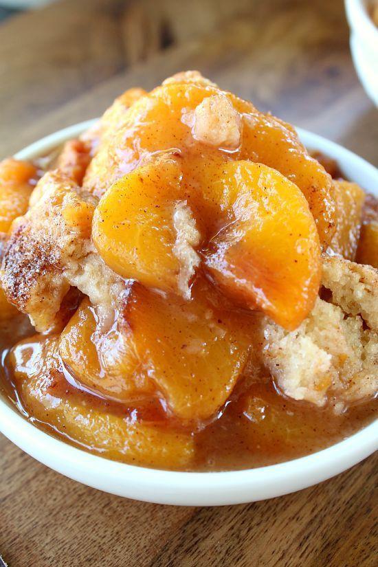 Fresh Peach Dessert  Fresh Peach Cobbler Great Grub Delicious Treats