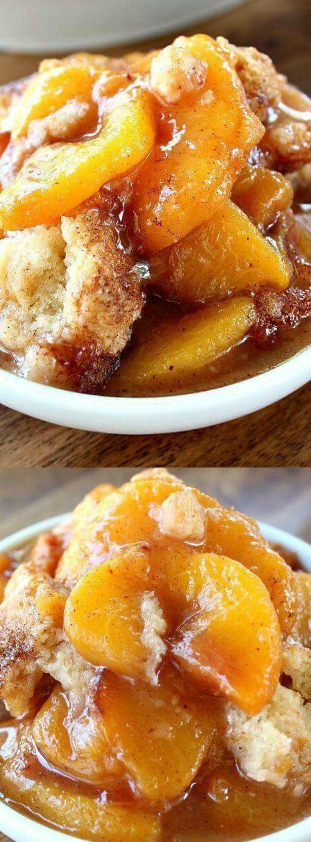 Fresh Peach Dessert Recipe  fresh peach cobbler recipe