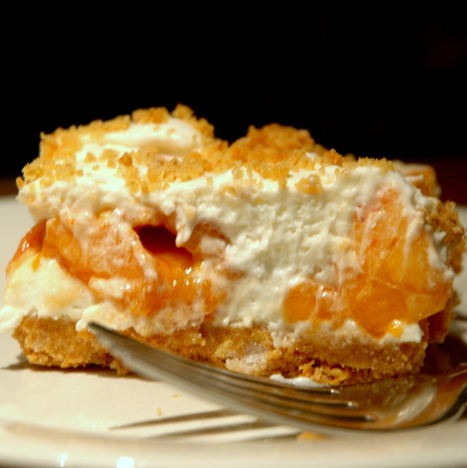 Fresh Peach Dessert  Cindy s Recipe Box Fresh Peach Dessert