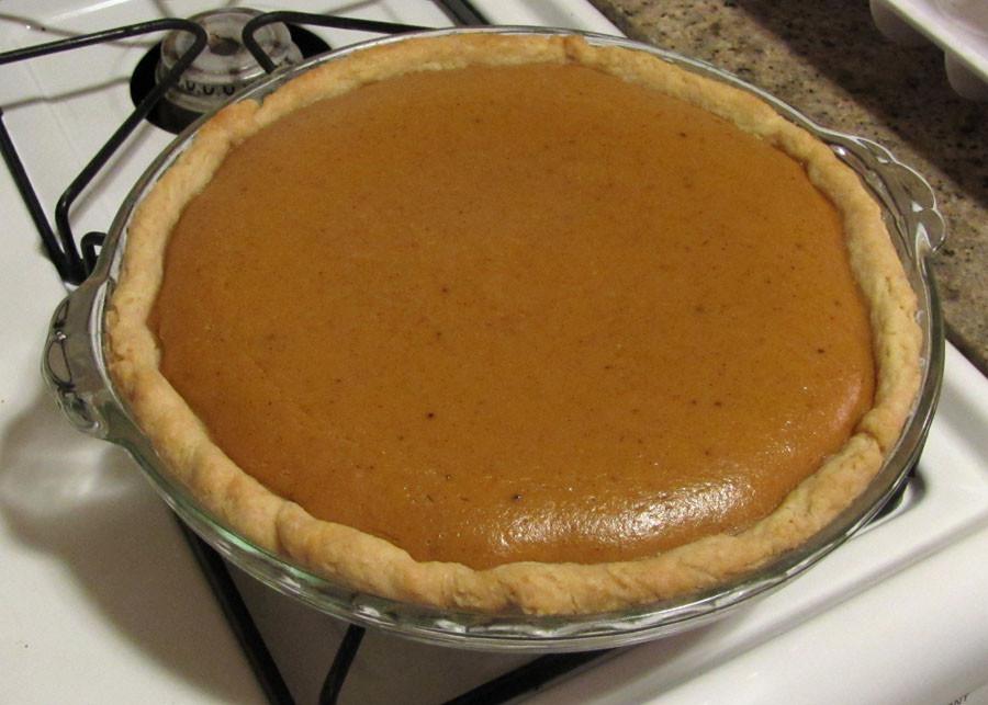 Fresh Pumpkin Pie Recipe  Smells Like Food in Here Fresh Pumpkin Pie