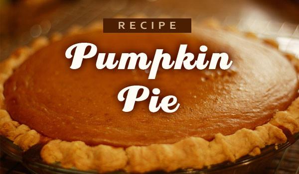 Fresh Pumpkin Pie Recipe  Recipe Fresh Pumpkin Pie – CaryCitizen