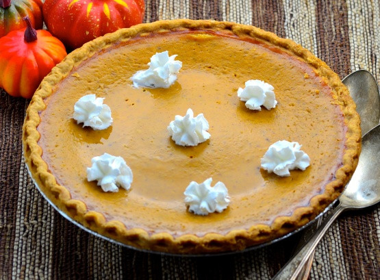 Fresh Pumpkin Pie Recipe  Thanksgiving Pumpkin Pie Uses Fresh Pumpkin Recipe