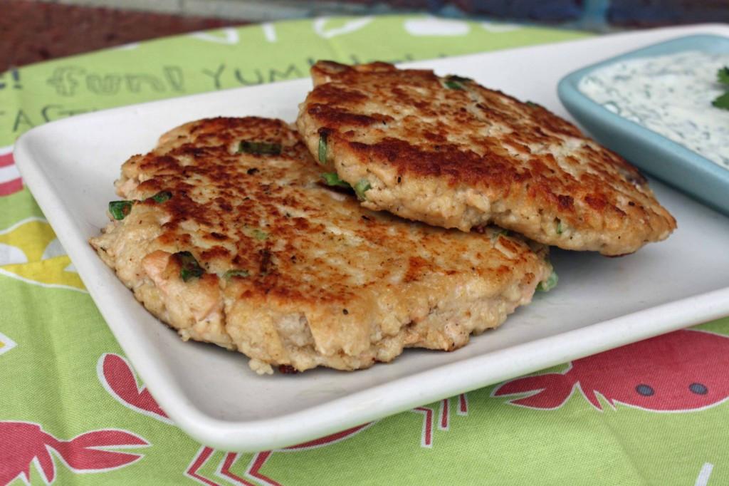 Fresh Salmon Patties  Fresh Recipes
