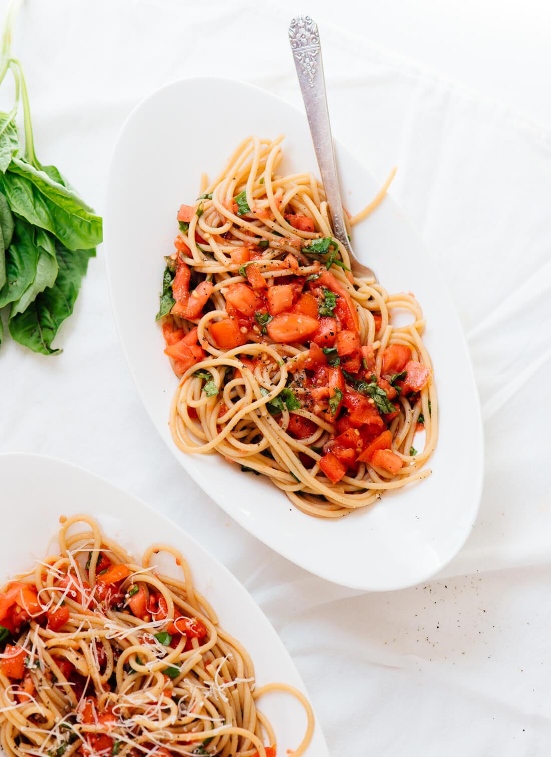 Fresh Spaghetti Sauce  25 Fresh Summer Recipes Cookie and Kate