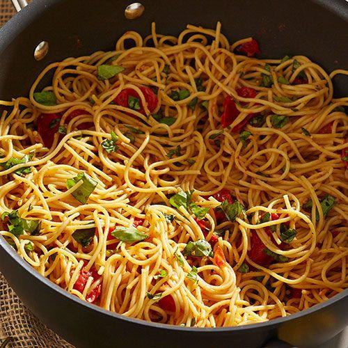 Fresh Spaghetti Sauce  Spaghetti Noodles with Fresh Tomato Basil Sauce Recipes
