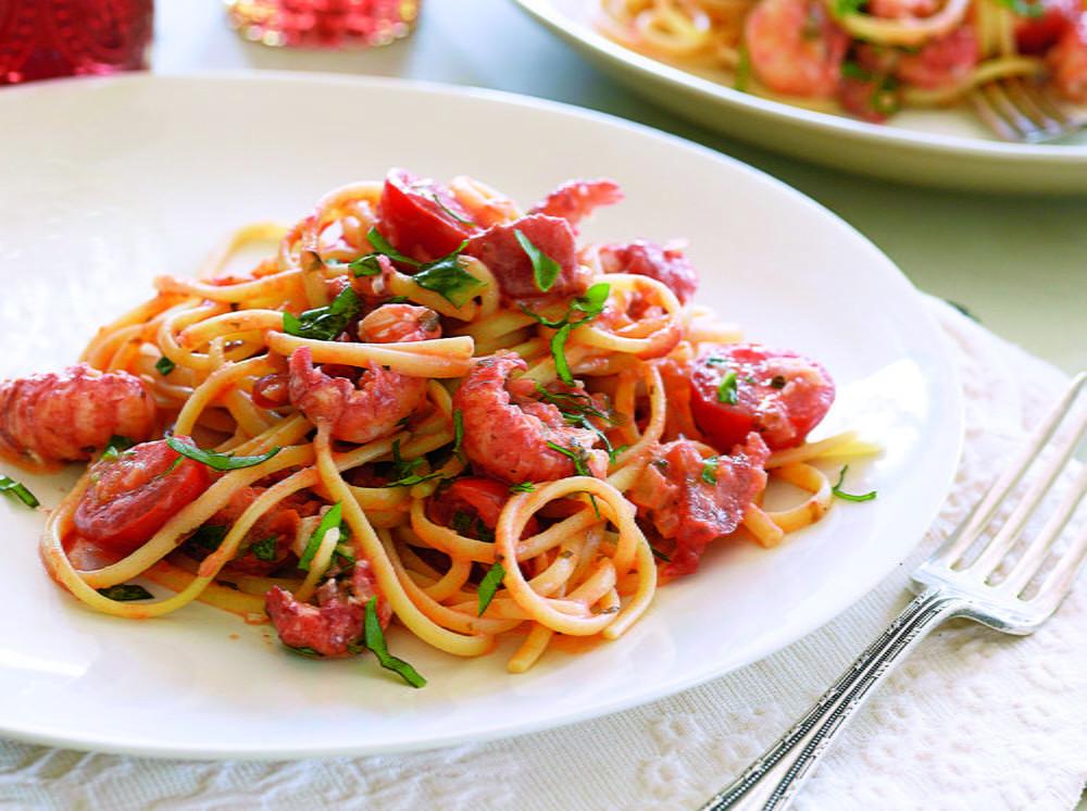 Fresh Spaghetti Sauce  Creamy Langoustine Pasta with Fresh Tomato Sauce
