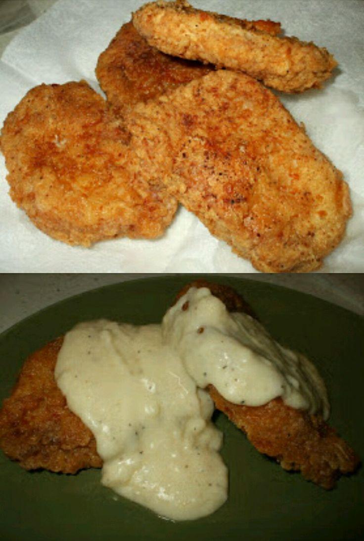 Fried Boneless Pork Chops Recipe  Best 25 Fried boneless pork chops ideas on Pinterest