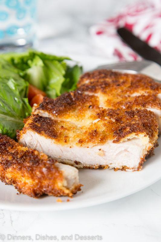 Fried Boneless Pork Chops Recipe  Crispy Pork Cutlet Recipe Dinners Dishes and Desserts