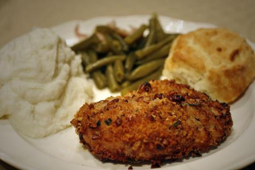 Fried Boneless Pork Chops Recipe  Oven Fried Pork Chops