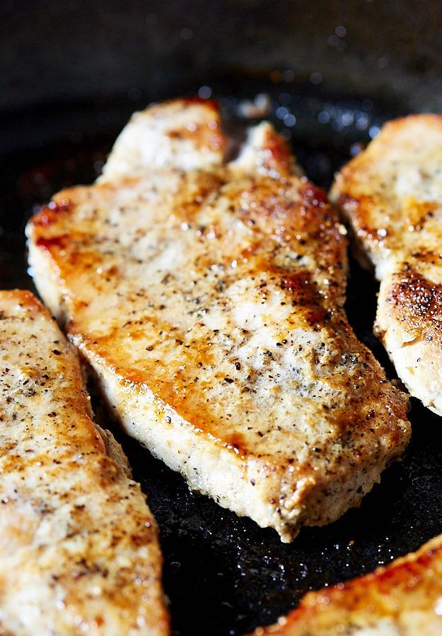 Fried Boneless Pork Chops Recipe  pan fried boneless pork chops