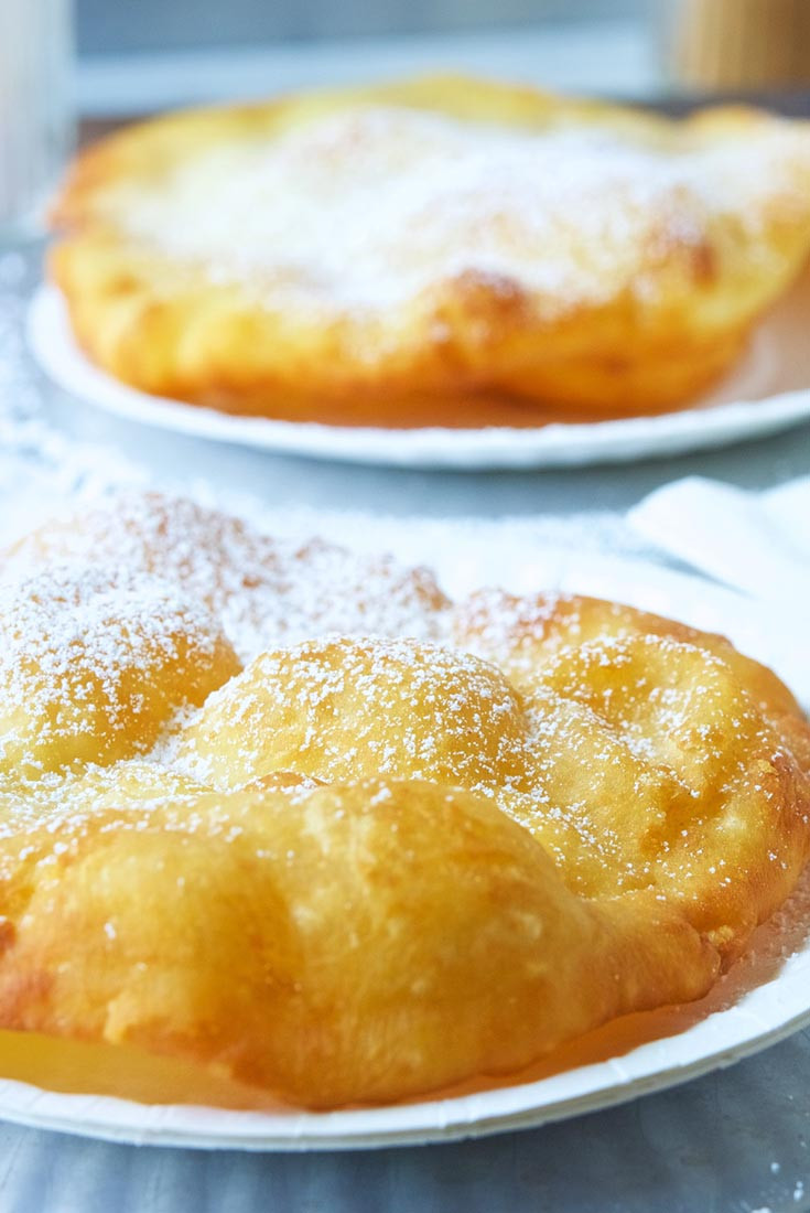 Fried Bread Recipe  County Fair Fried Dough Recipe