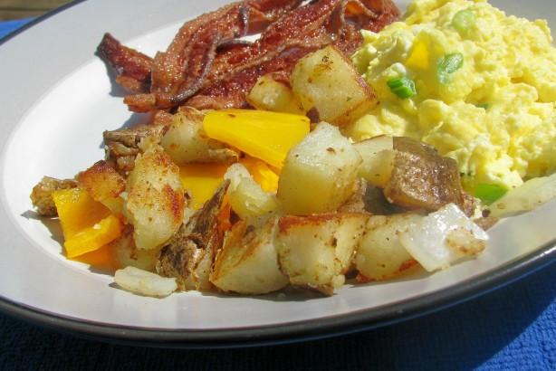 Fried Breakfast Potatoes  Home Fried Breakfast Potatoes Recipe Breakfast Food
