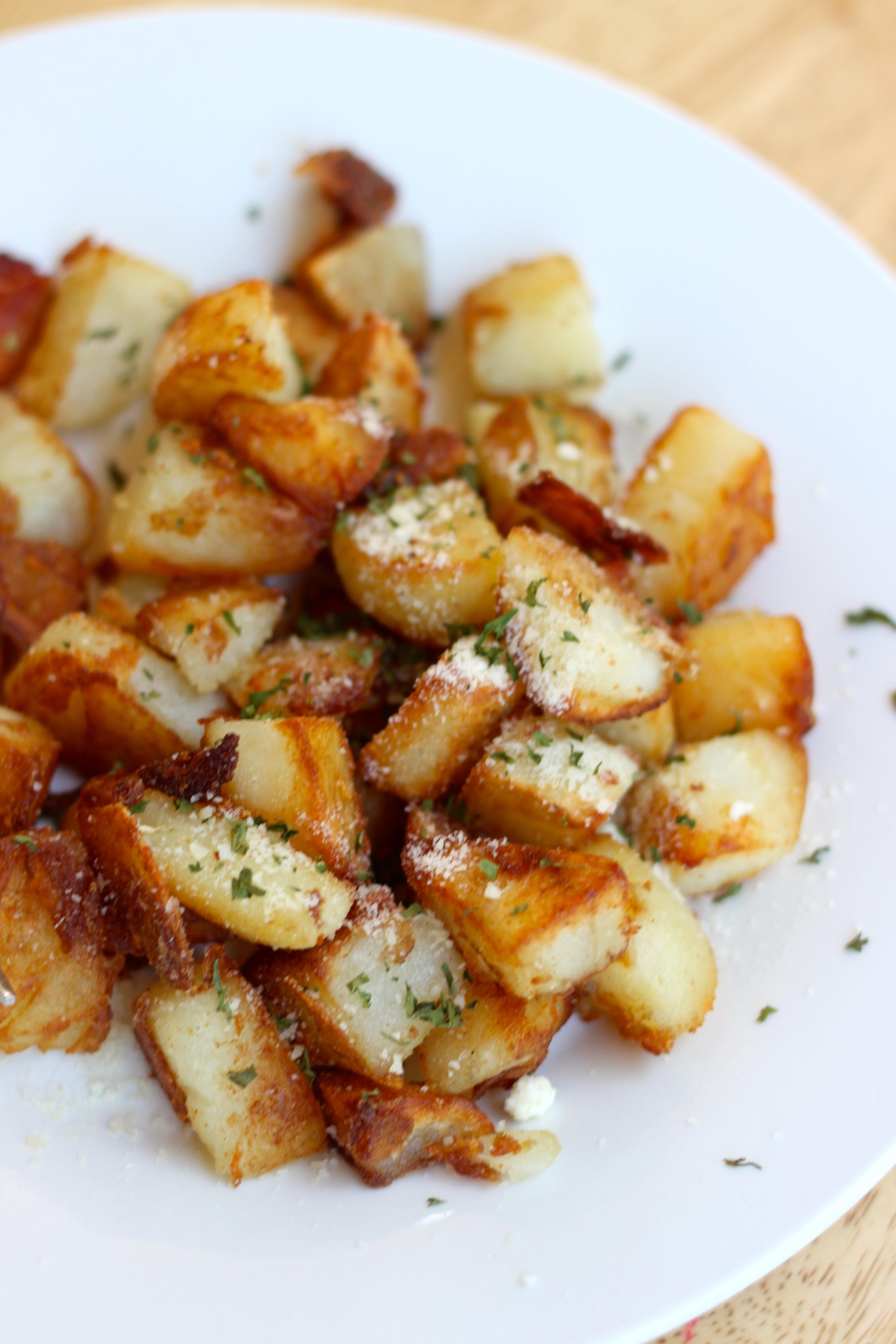 Fried Breakfast Potatoes  The Best Pan Fried Breakfast Potatoes – The Foo Patootie