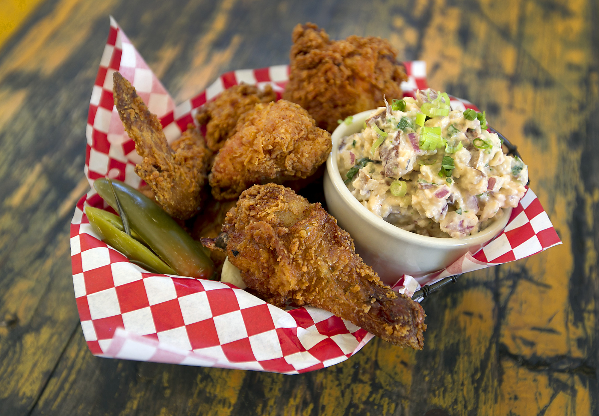 Fried Chicken Austin  Where to eat in Austin on National Fried Chicken Day