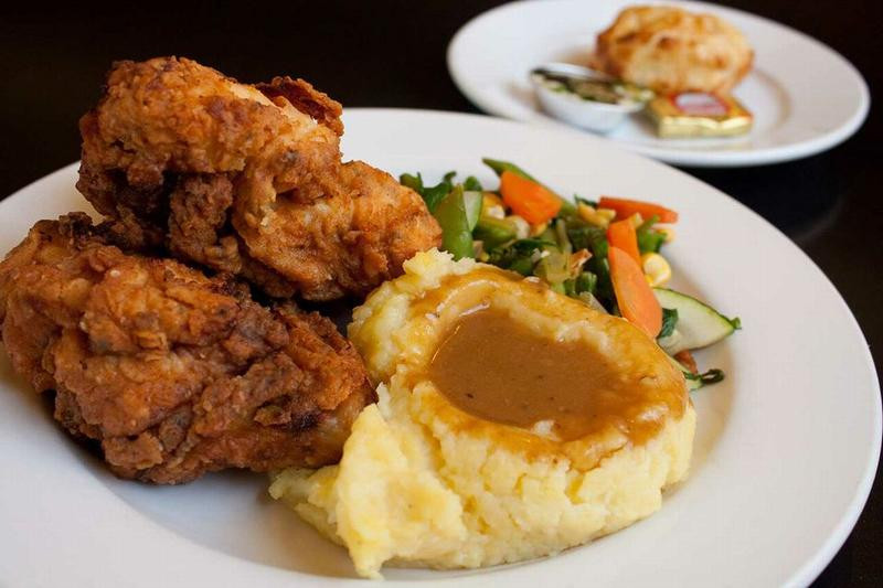 Fried Chicken Dinner  NEW Fried Chicken Dinner Sundays only Scubas Pourhouse