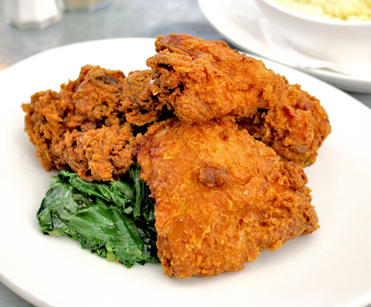 Fried Chicken Dinner  The Fried Chicken Dinner Boon Fly Café Napa • The