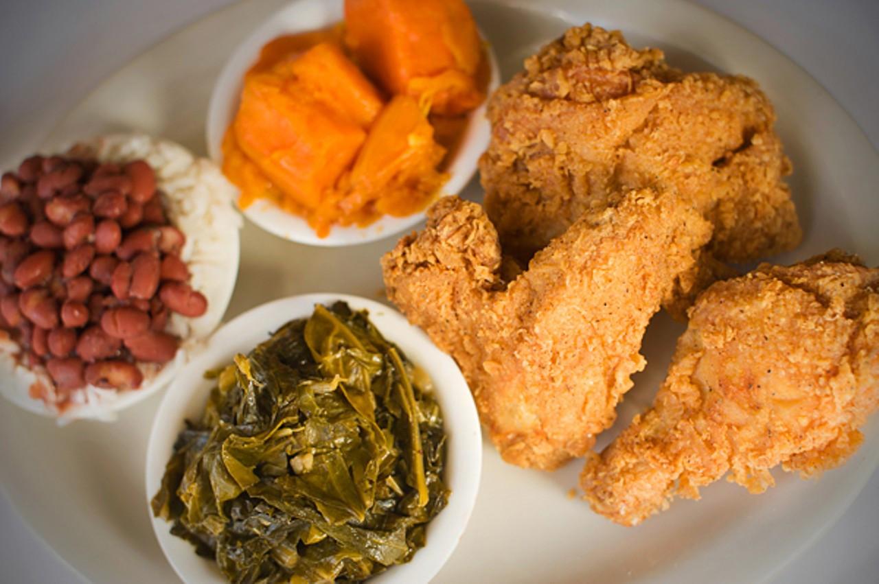 Fried Chicken Dinner  Buffet Bargain at East Oakland s Soul s Restaurant
