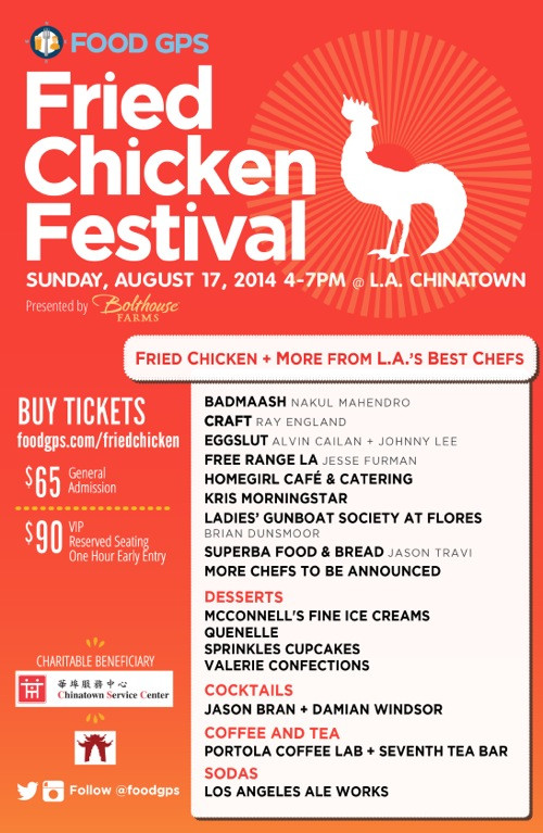 Fried Chicken Festival  Food GPS Fried Chicken Festival Top L A Chefs in