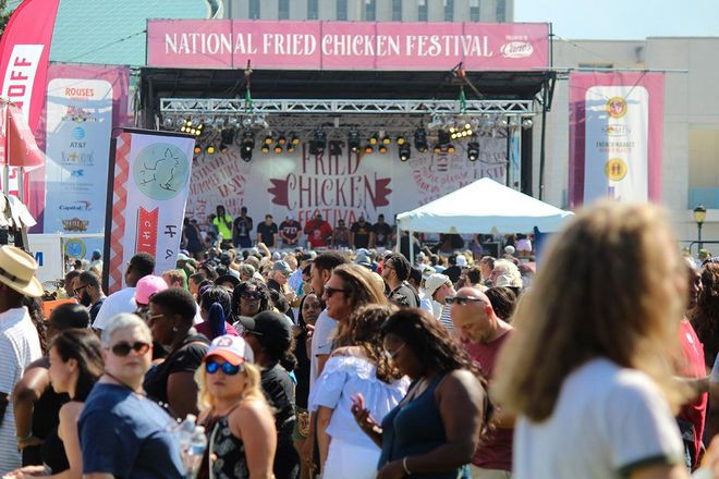 Fried Chicken Festival  The National Fried Chicken Festival New Orleans