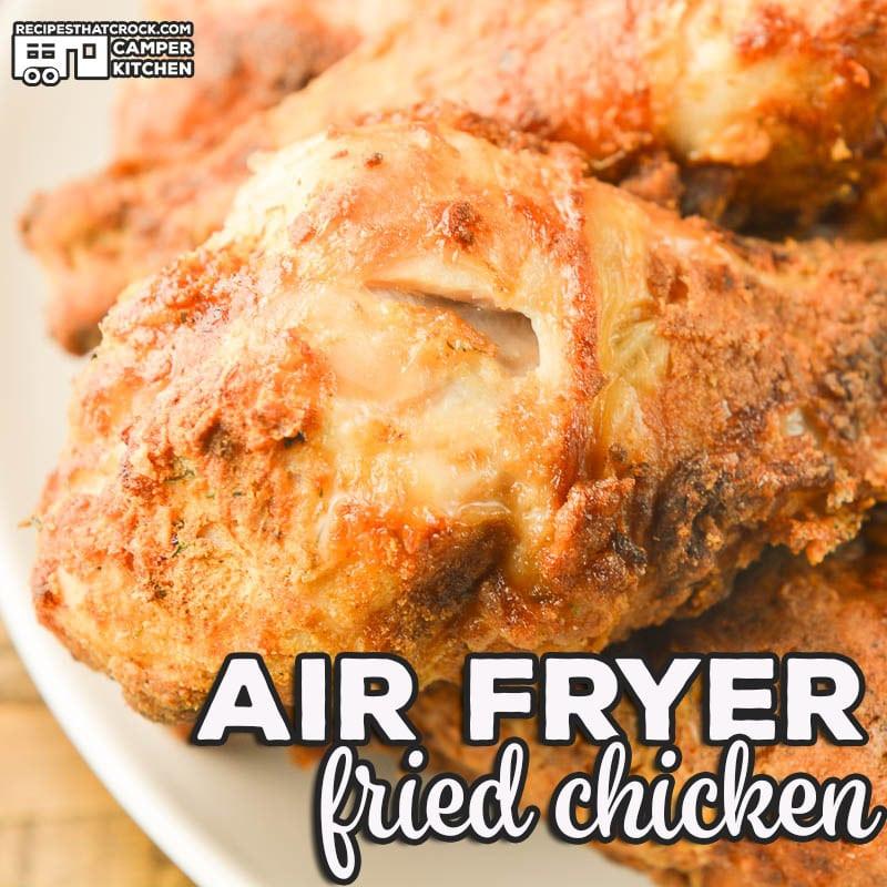 Fried Chicken In Air Fryer  Air Fryer Fried Chicken Recipes That Crock