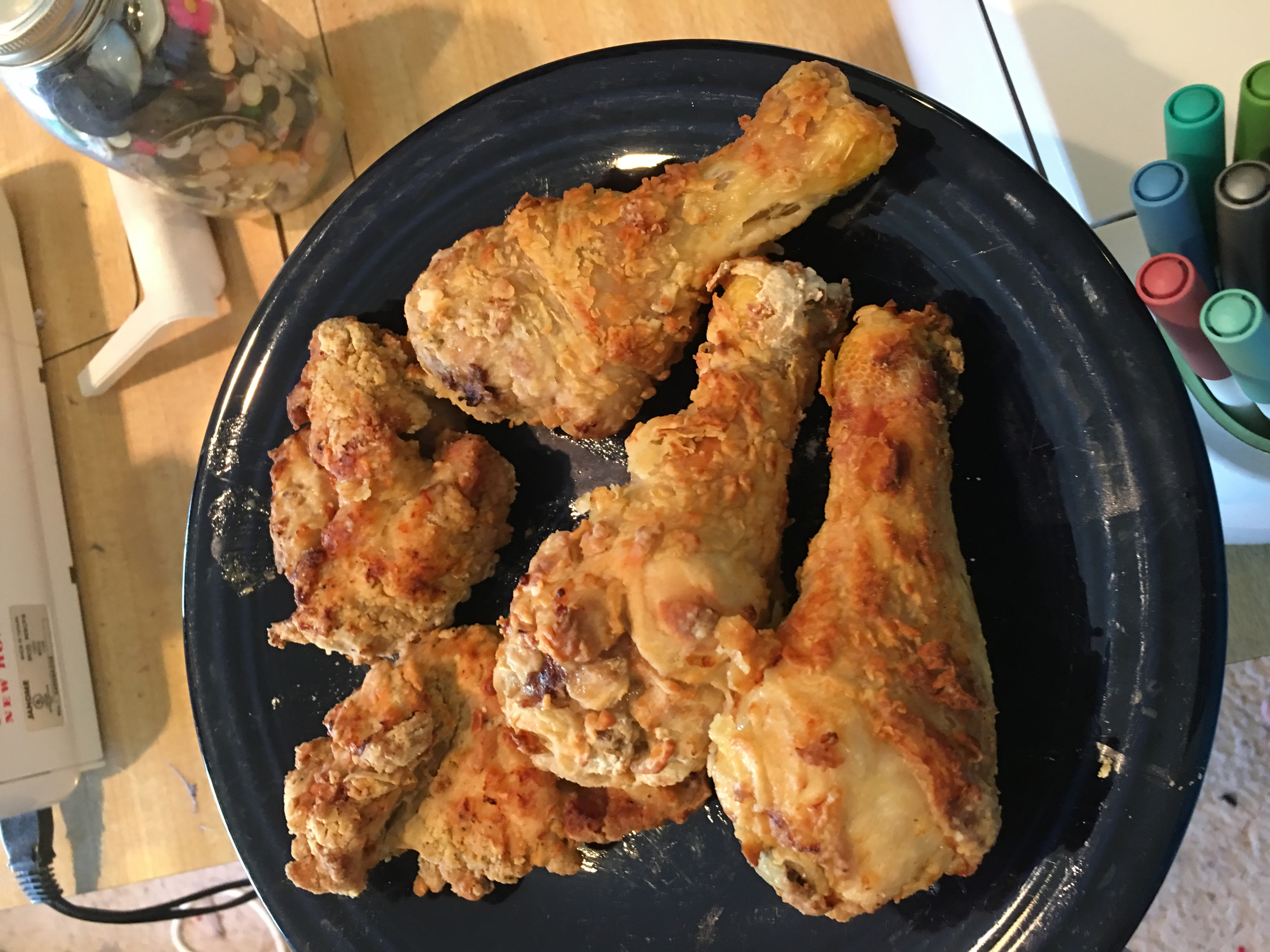 Fried Chicken In Air Fryer  Fried Chicken in the Air Fryer Kids Coupons and Krafts