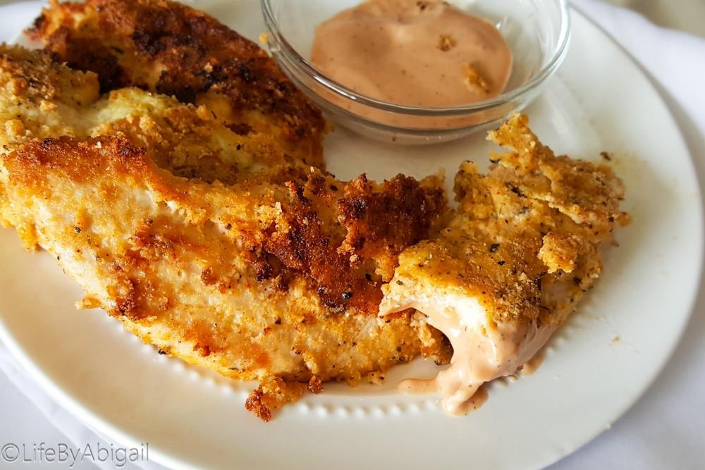 Fried Chicken Keto  Paleo Keto Fried Chicken Tenders Beneath My Heart