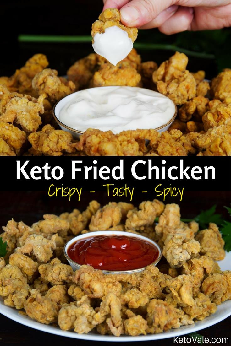 Fried Chicken Keto  Crispy Keto Fried Chicken Best Low Carb Recipe