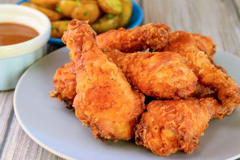Fried Chicken Leg  Crispy Fried Chicken Drumsticks Recipe