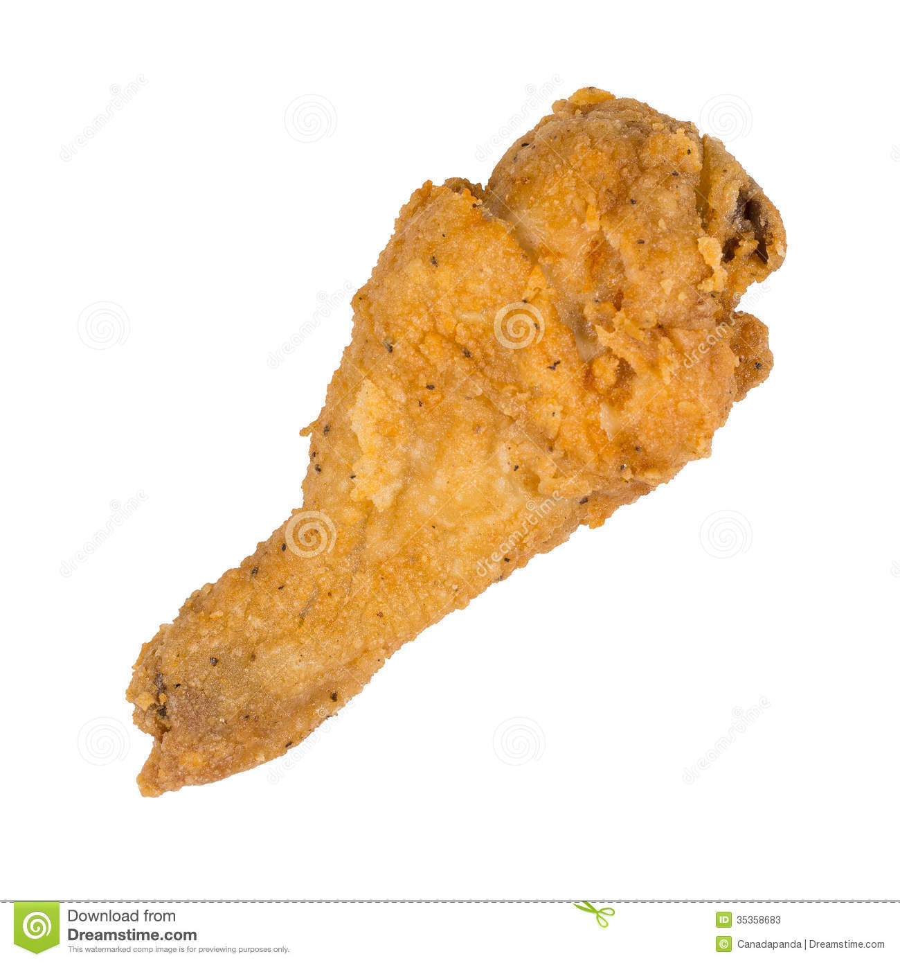 Fried Chicken Leg  Fried chicken leg stock image Image of portion wing