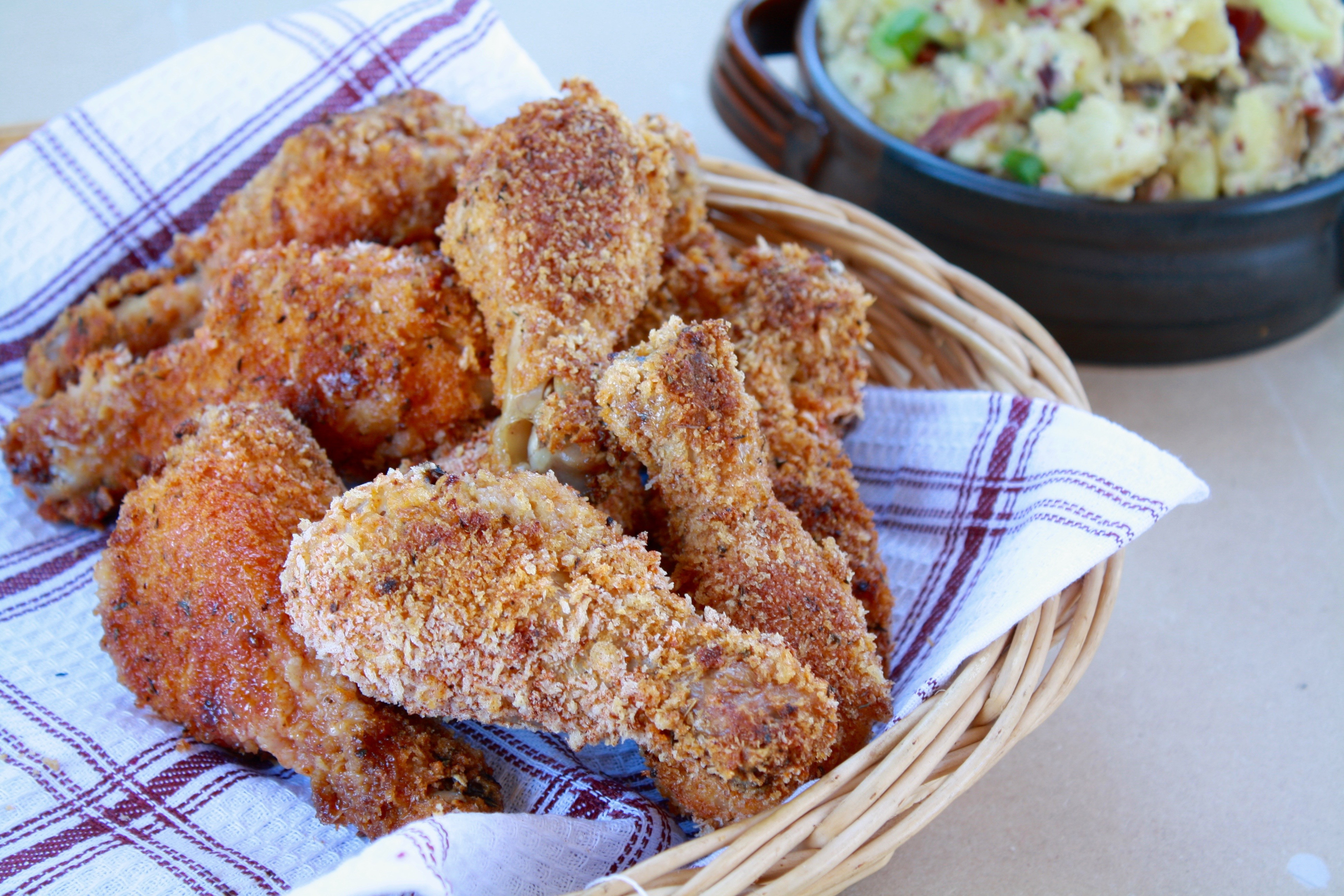Fried Chicken Legs  Easy Oven Fried Chicken Legs The Grey Bell