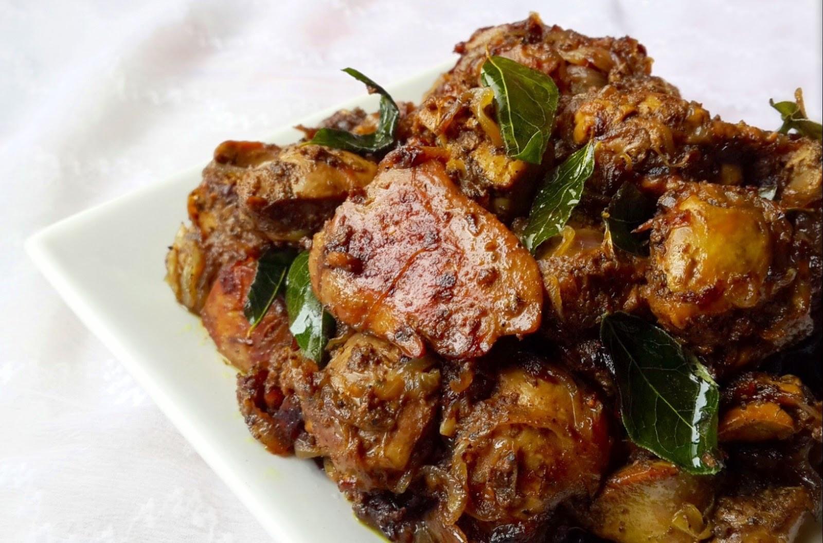 Fried Chicken Liver Recipes  Chicken Liver Fry Recipe