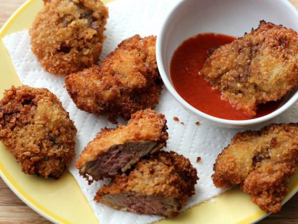Fried Chicken Liver Recipes  Bar Bites Fried Chicken Livers