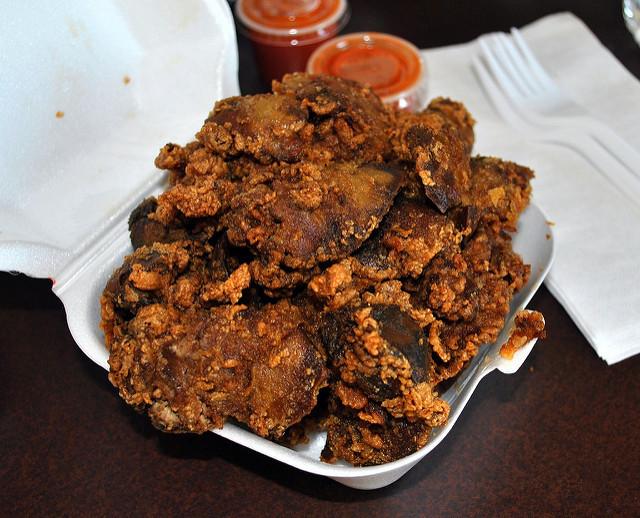 Fried Chicken Livers  Fried Chicken Liver