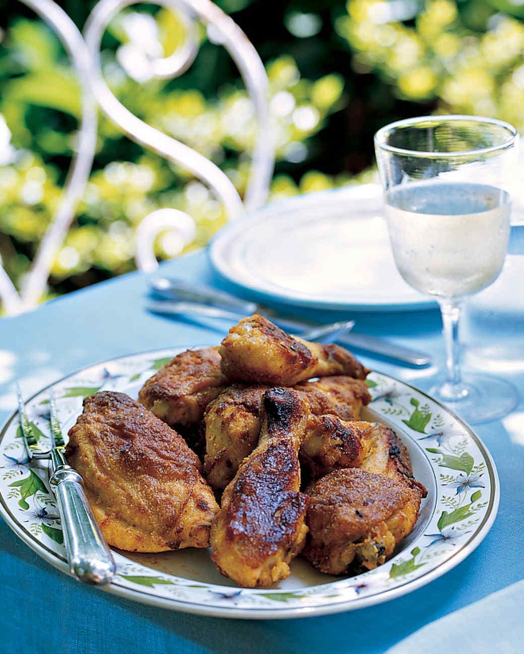 Fried Chicken Marinade  Oven Fried Chicken with Tabasco Garlic Marinade Recipe