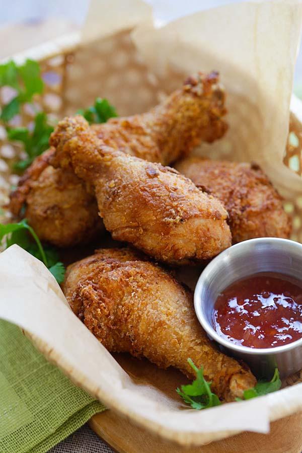 Fried Chicken Marinade  Thai Fried Chicken