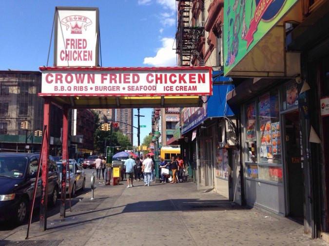 Fried Chicken Nyc  Crown Fried Chicken New York New York City Urbanspoon