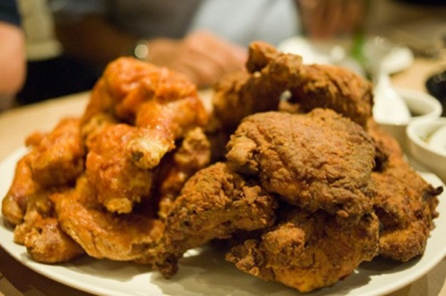 Fried Chicken Nyc  Momofuku Noodle Bar s Fried Chicken Dinner