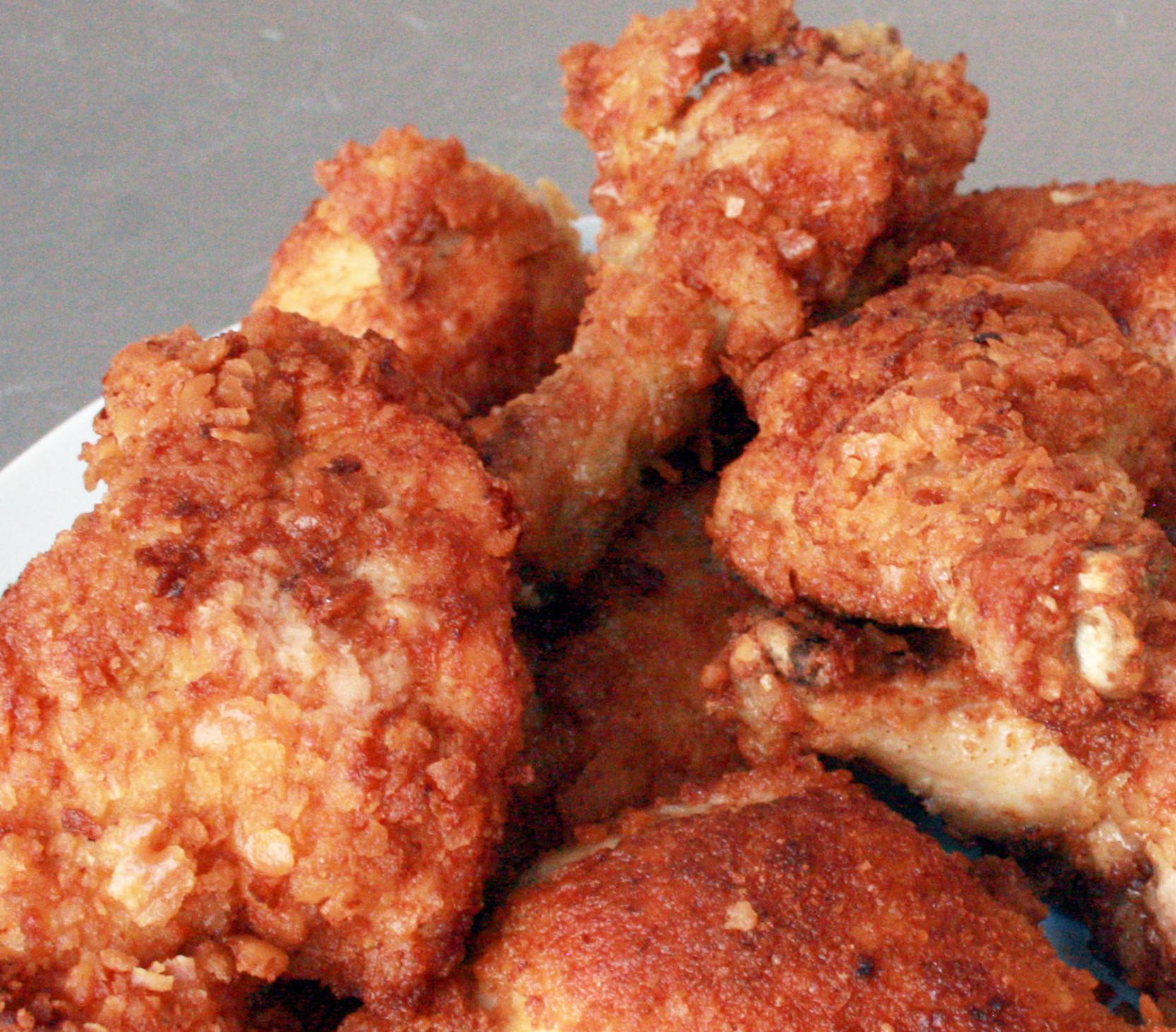 Fried Chicken Recipe Easy  Easy Crispy Fried Chicken 5