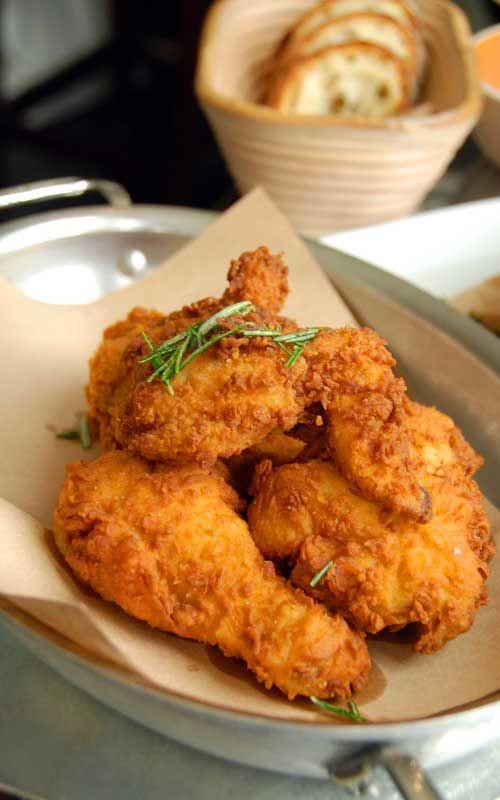 Fried Chicken Recipe Easy  25 best Baked Fried Chicken ideas on Pinterest