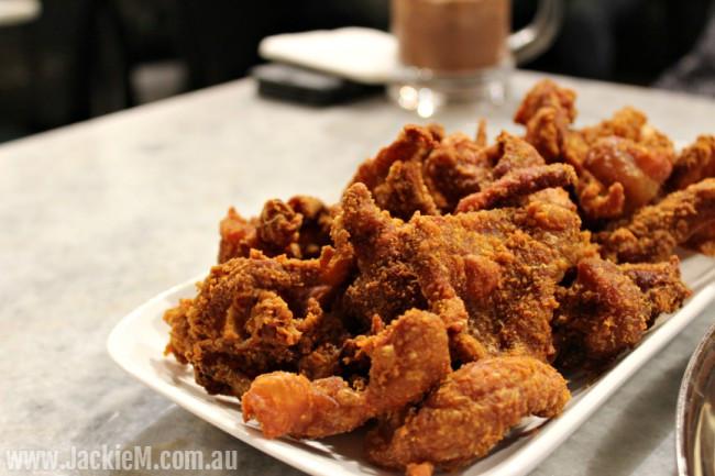Fried Chicken Skin  Papparich Sydney CBD Jackie M