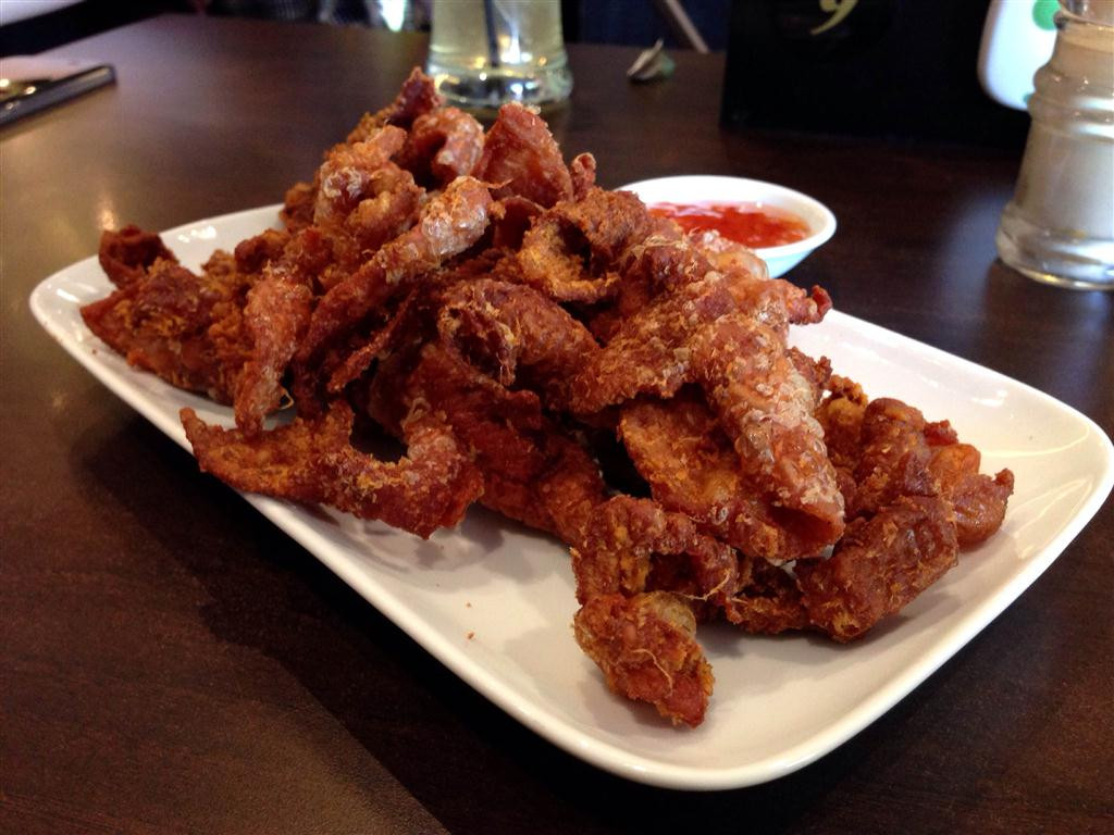 Fried Chicken Skin  PappaRich fried chicken skin heaven – thecattylife